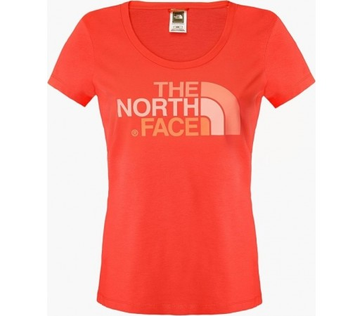 Tricou  The North Face W S/S Easy Rosu