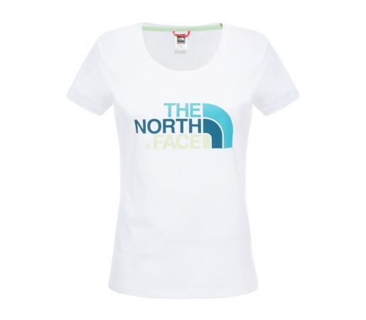 Tricou The North Face W S/S Easy Alb