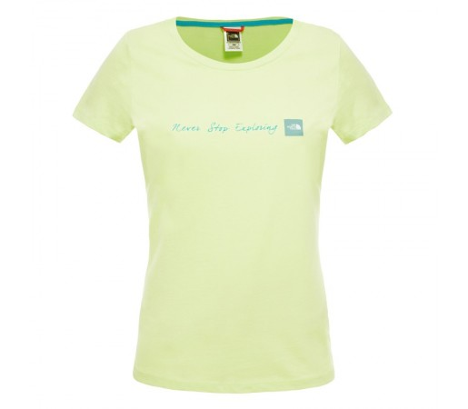 Tricou The North Face W S/S Never Stop Exploring Verde