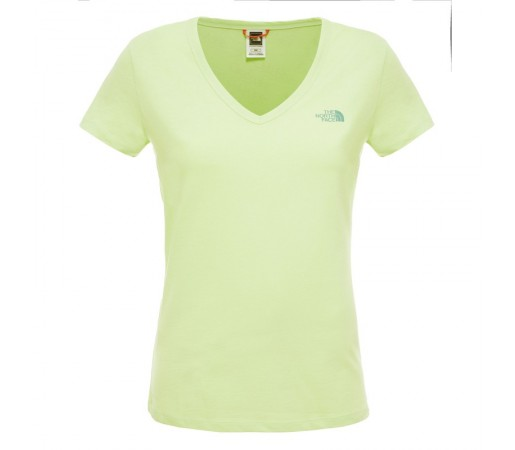 Tricou The North Face W S/S Simple Dome Verde