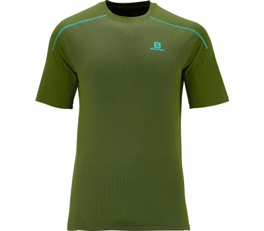 Tricou Salomon Apogee Ss Tee M Green