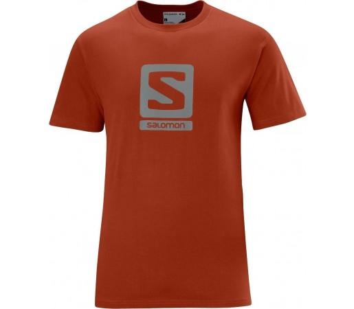 Tricou Salomon Poly Logo Tee M Orange 2013