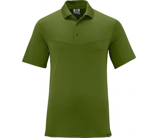 Tricou Salomon My Polo M Green