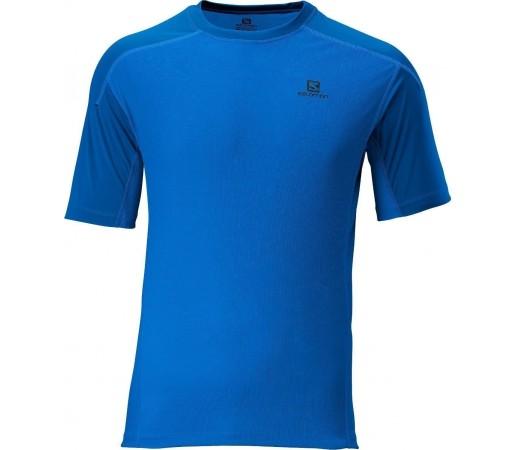 Tricou Salomon Pace Contrast Tee M Blue 2013