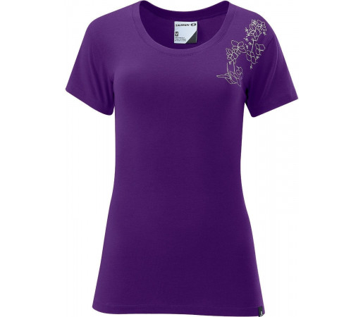 Tricou Salomon Poly Logo Tee W Purple 2013