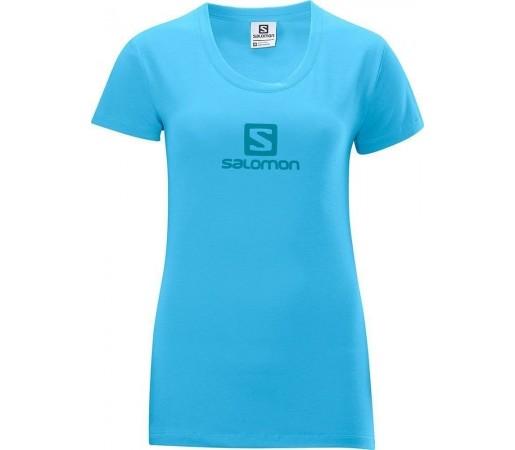 Tricou Salomon Polylogo Tee W Blue