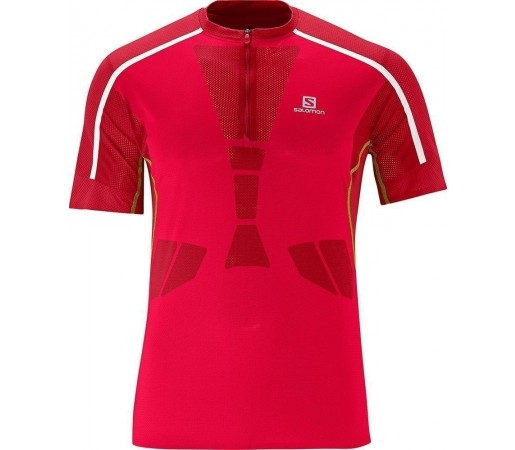 Tricou Salomon Sky Tee M Red