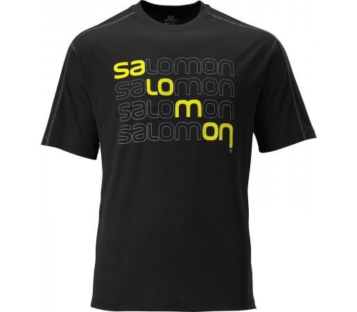 Tricou Salomon Stroll Logo Tee M Dark Cloud 2013