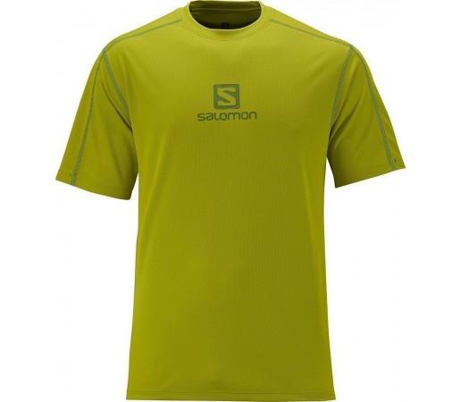 Tricou Salomon Stroll Logo Tee M Green