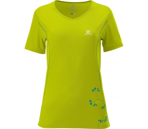 Tricou Salomon Stroll Logo Tee W Lime 2013