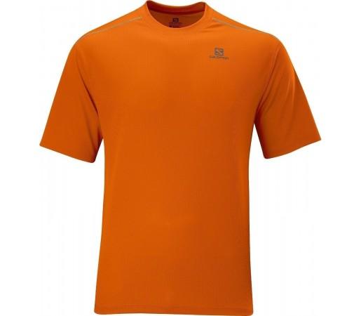 Tricou Salomon Stroll Tee M Orange 2013