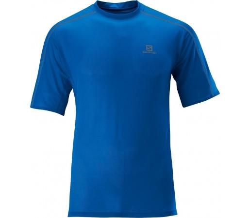 Tricou Salomon Trail Runner Tee M Blue 2013