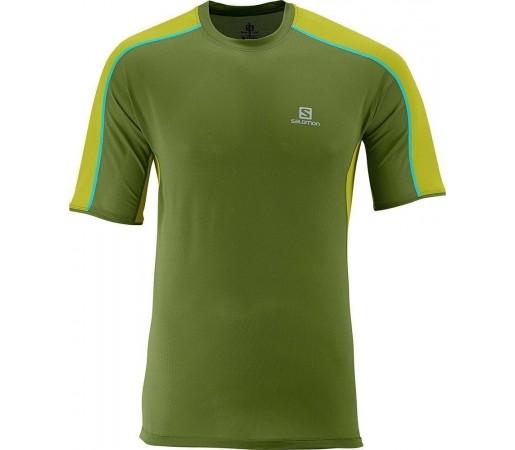 Tricou Salomon Trail Runner Tee M Green
