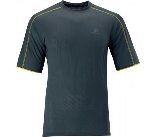 Tricou Salomon Trail Runner Tee M Grey 2013
