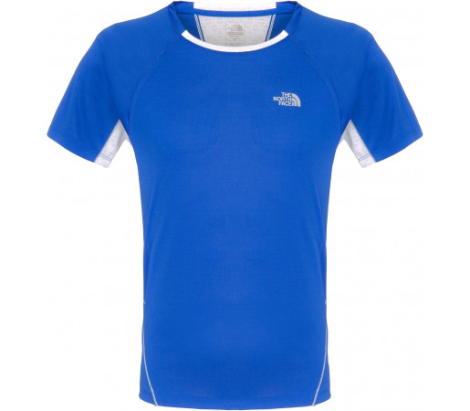 Tricou The North Face Better Than Naked Blue- White