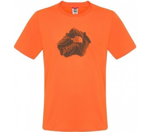 Tricou The North Face Heli View Orange