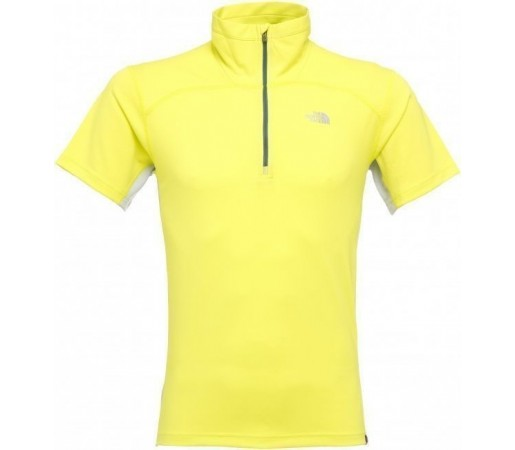 Tricou The North Face Nihon 1/4 Zip Yellow 2013