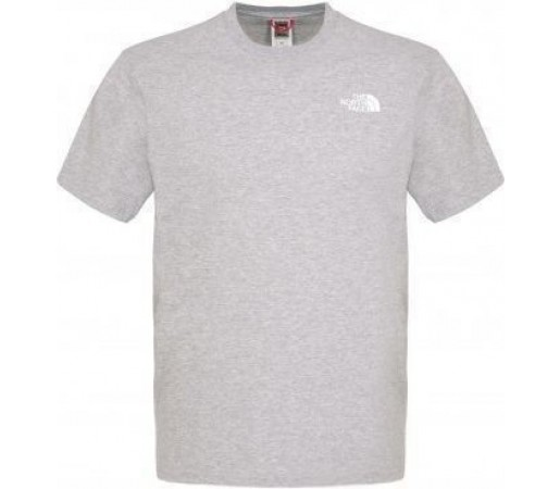Tricou The North Face Red Box Heather Grey