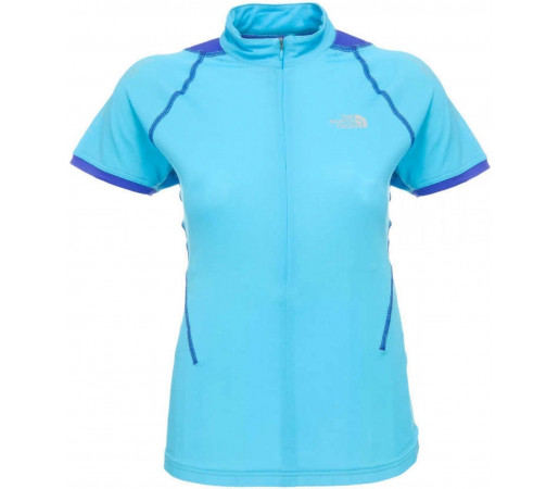 Tricou The North Face W VTT 3/4 Zip Blue