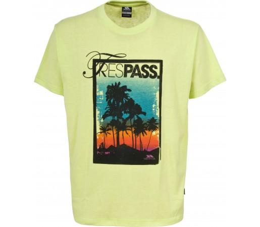 Tricou Trespass Flagfin Lemongrass