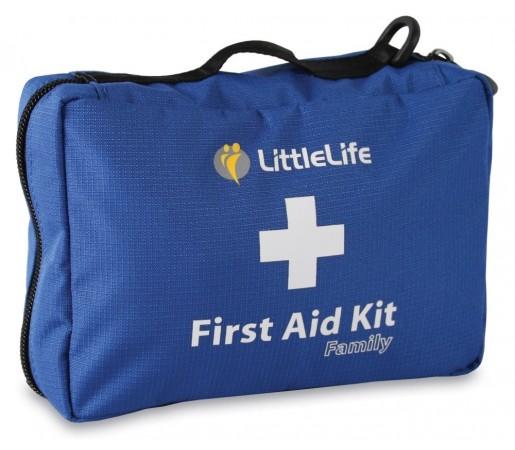 Trusa de prim ajutor family Little Life Albastra