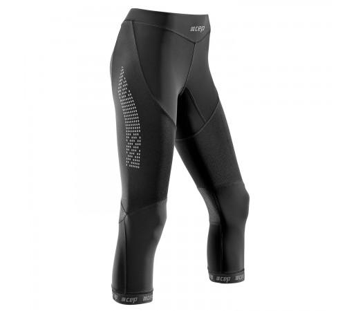 Pantaloni 3/4 CEP Dynamic+ Run 2.0 W Negru