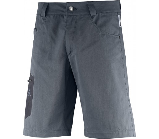 Pantaloni scurti Salomon Wayfarer Canvas M Gri Inchis