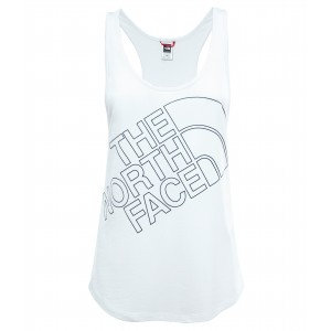 Tricou The North Face Half Dome Sleeveless W Alb
