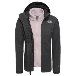 Geaca Drumetie Copii The North Face Girl'S Eliana Triclimate Jkt Asphalt Grey (Gri)