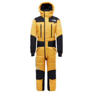 Combinezon Drumetie Barbati The North Face Himalayan Suit Summit Gold/Tnf Black (Galben)