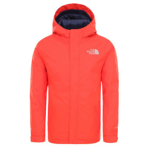 Geaca Drumetie Copii The North Face Youth Snow Quest Jkt Fiery Red (Rosu)