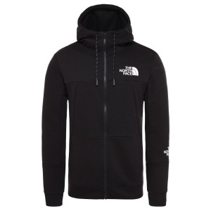 Hanorac Barbati The North Face Mountain Lite Full Zip Hoodie Tnf Black (Negru)
