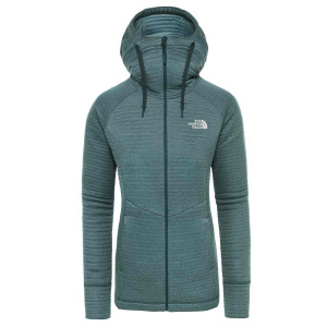 Hanorac Femei The North Face Hikesteller Midlayer Ponderosa Green/Trellis Green (Verde)