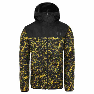 Geaca Barbati The North Face Novelty Cyclone 2 Leopard Yellow 1994 Rage Print (Multicolor)
