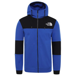 Hanorac Barbati The North Face Himalayan Full Zip Tnf Blue/Tnf Black (Albastru)