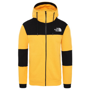 Hanorac Barbati The North Face Himalayan Full Zip Tnf Yellow/Tnf Black (Galben)