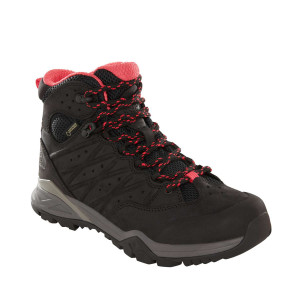 Ghete Drumetie Femei The North Face Hedgehog Hike Ii Mid Gtx Tnf Black/Atomic Pink (Negru)