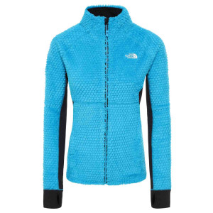 Polar Drumetie Femei The North Face Shimasu Highloft F Acoustic Blue (Bleu)