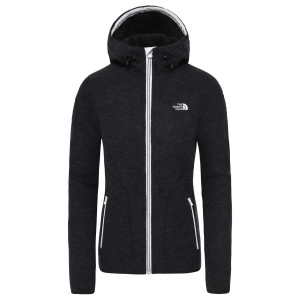 Hanorac Femei The North Face Zermatt Full Zip Hoodie Tnf Black Heather (Negru)