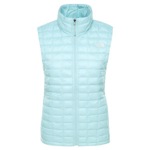 Vesta Drumetie Femei The North Face Thermoball Eco Vest Windmill Blue M (Turcoaz)