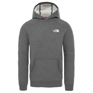 Hanorac Barbati The North Face Raglan Red Box Hoodie Tnf Medium Grey/Tnf Grey (Gri)
