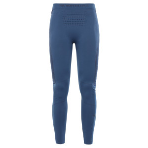 Pantaloni First Layer Alergare Femei The North Face Sport Tights Blue Wing/Black (Bleumarin)