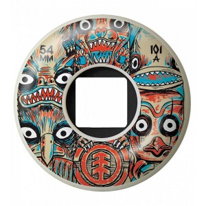 Roti Skateboard Element Fos Totem 54 mm Multicolor
