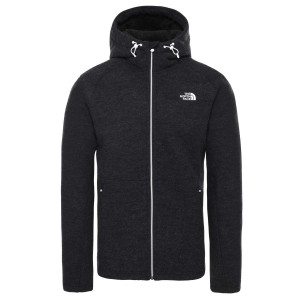 Hanorac Barbati The North Face Zermatt Full Zip Hoodie Tnf Black Heather (Negru)