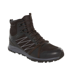 Ghete Drumetie Barbati The North Face Litewave Fastpack Ii Mid Gtx Tnf Black/Ebony (Negru)