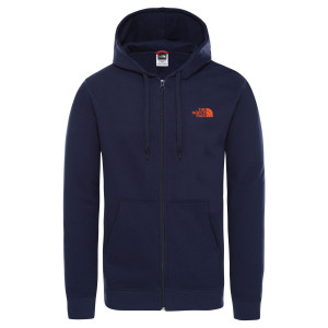 Hanorac Barbati The North Face Open Gate Full Zip Hoodie Montague Blue (Bleumarin)