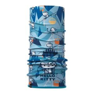 Bandana Tubulara Drumetie Copii Buff New Polar Child Hello Kitty Ski Day Turquoise