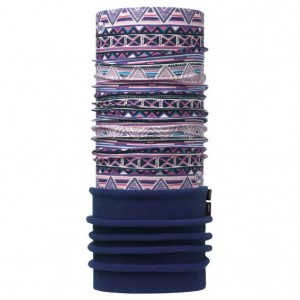 Neck Tube Buff Polar Jr Tanok Multi / Navy