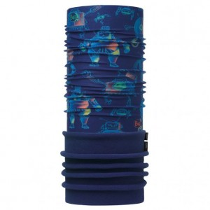 Neck Tube Buff Polar Copii Robots Navy / Navy