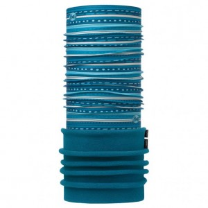 Neck Tube Buff Polar Copii Frill Turquoise / Ocean